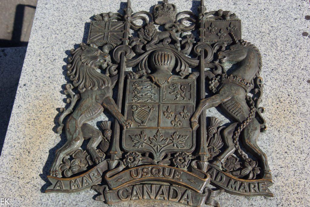 Das Wappen von Canada