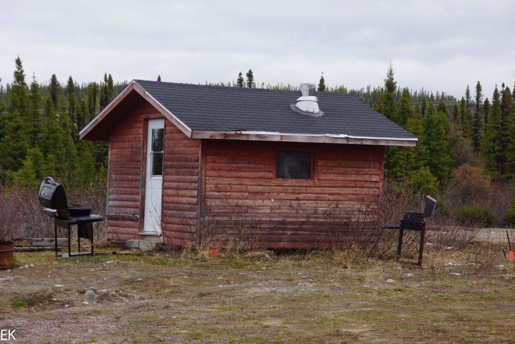 Jagdhütte mit Sprit...