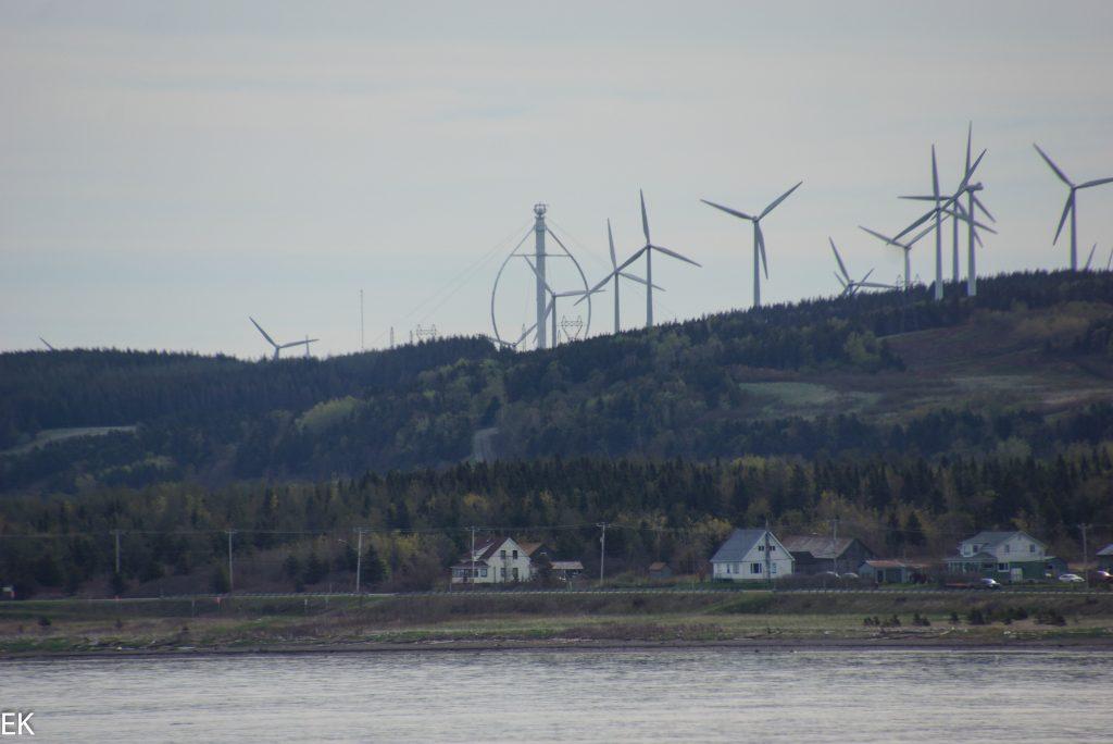 Windpark mit Éole