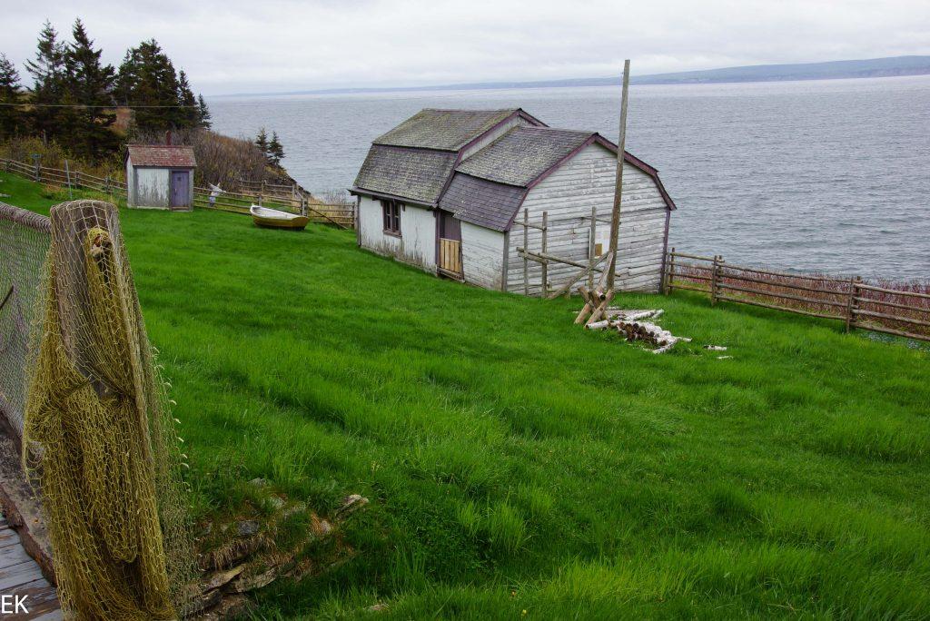 Alte Fischerhütte am Cap Gaspé