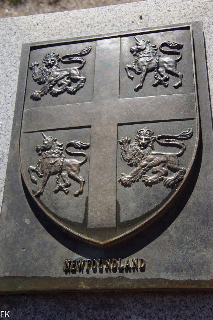 Das Wappen von Newfoundland