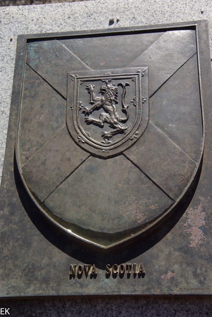 Das Wappen von Nova Scotia
