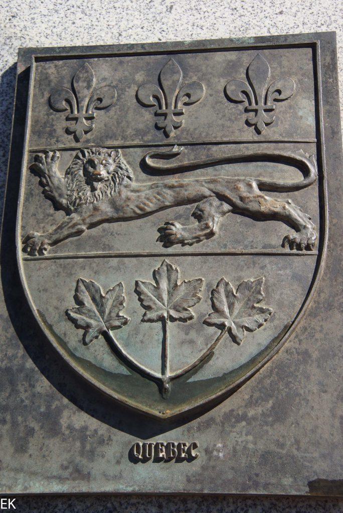 Das Wappen von Québec