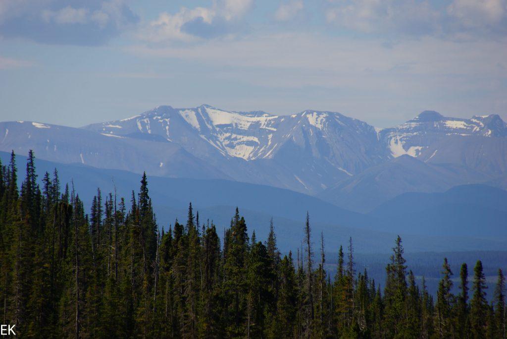 Endlich Berge! Die Rockies sind nah!