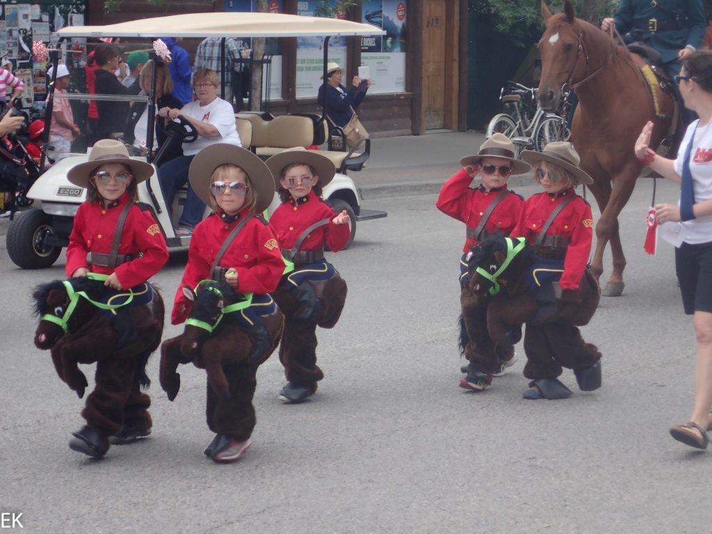 Mini Mounties