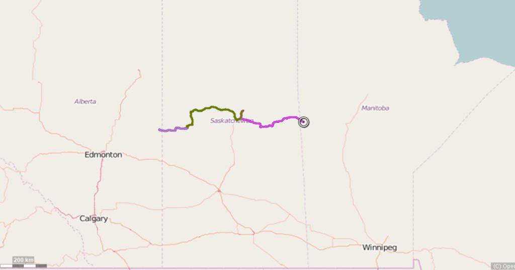 Saskatchewan tracks