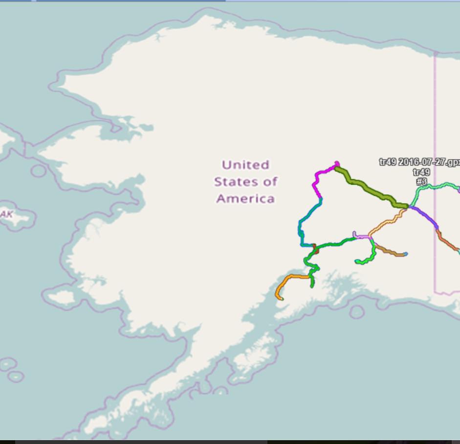 Tracks Alaska
