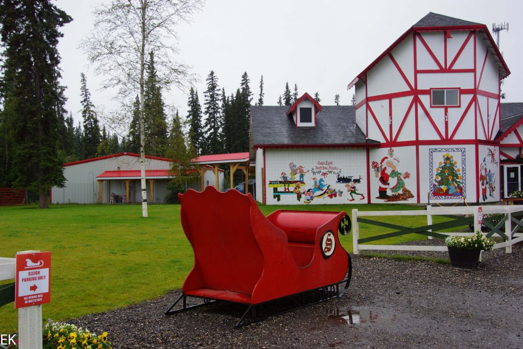 Santa Claus House in North Pole