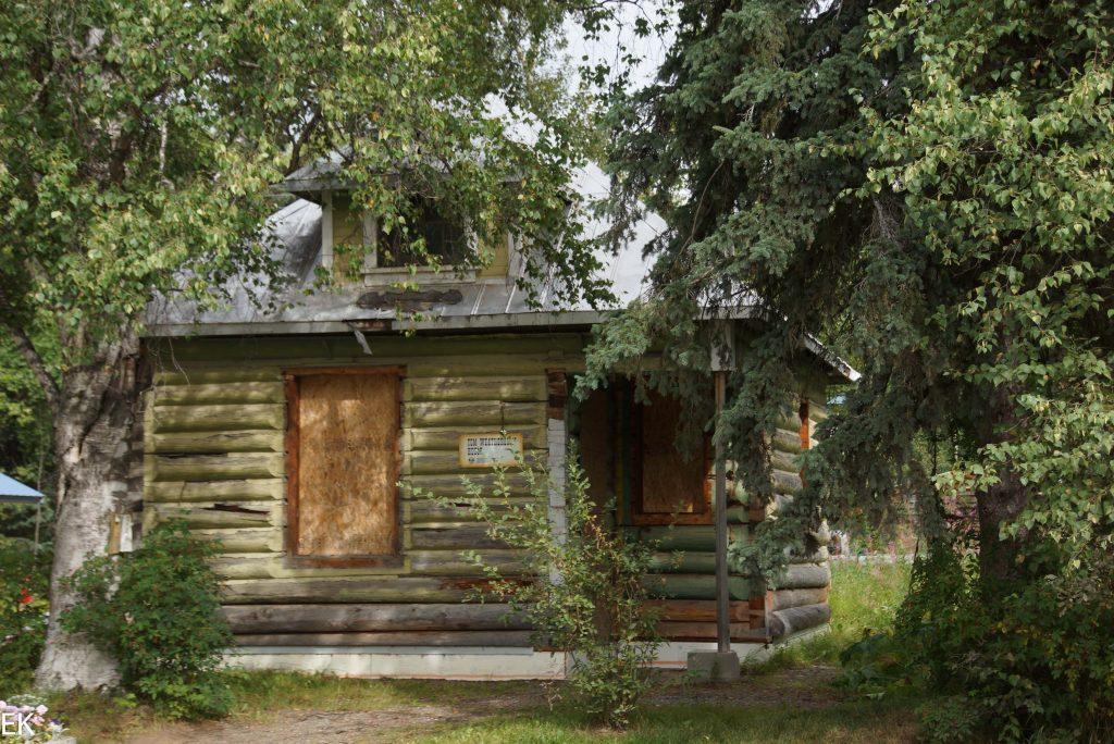 Alte Blockhütte