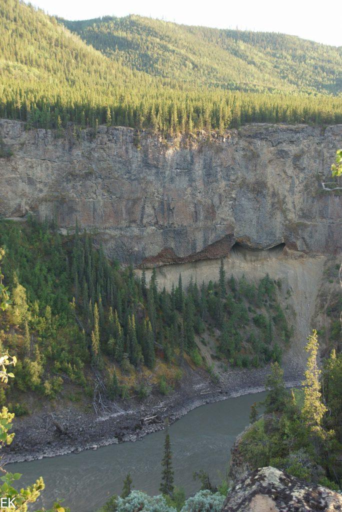 Überblick über den Stikine Canyon