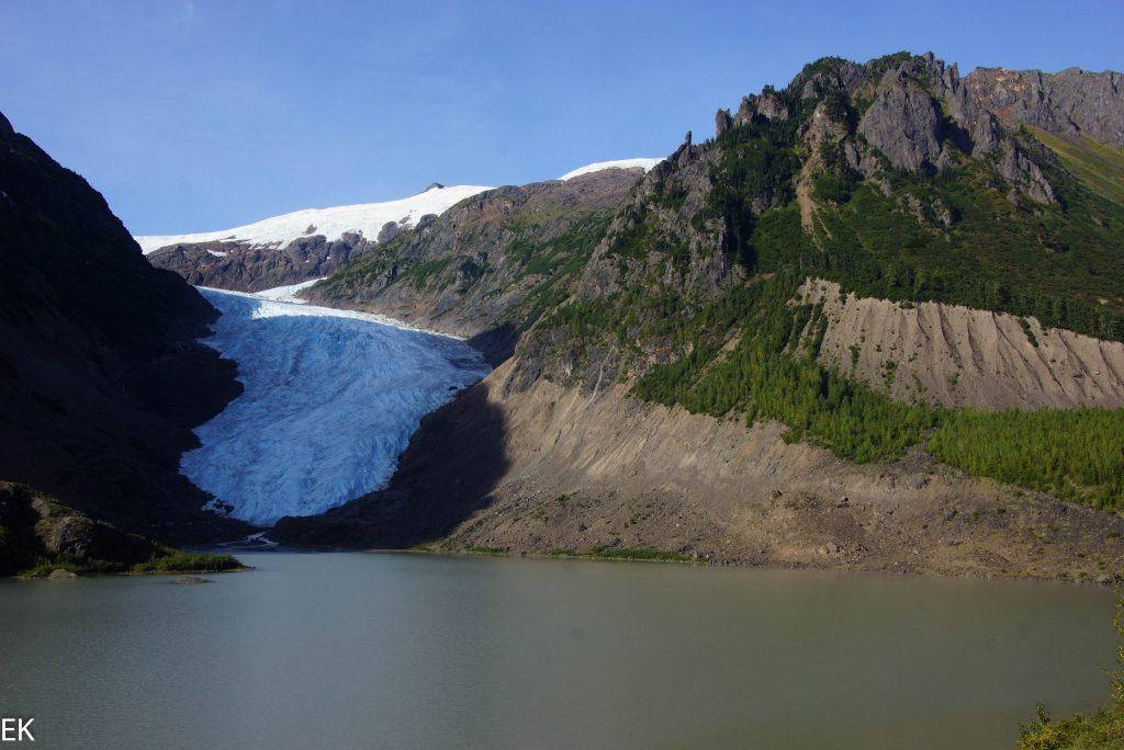 Nur noch wenig Gletscher...