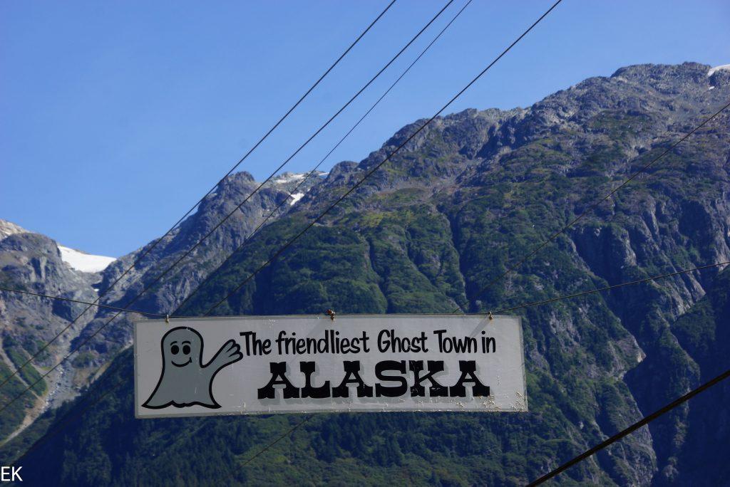 Hyder, das verlassenste Auto- zugängliche Nest von Alaska
