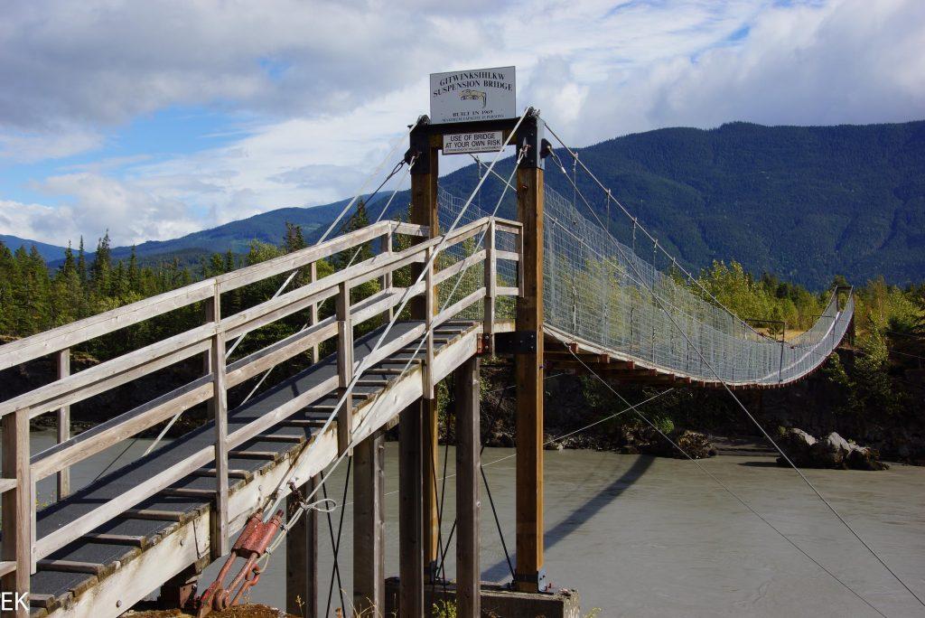 Hängebrücke in