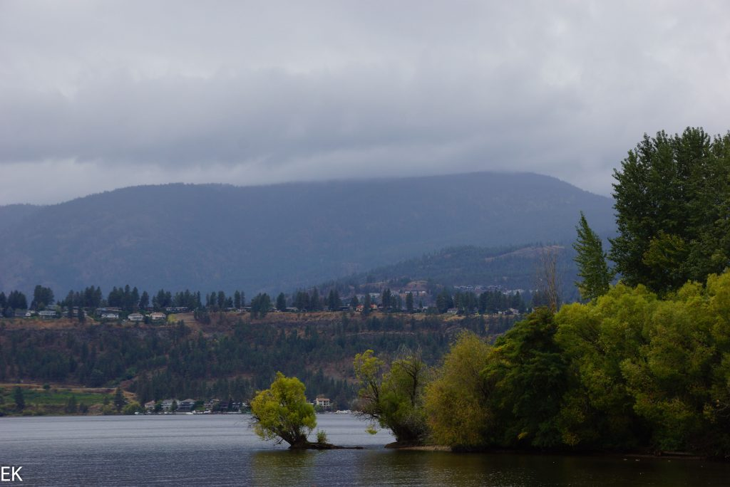 Am Okanaagan See in Kelowna