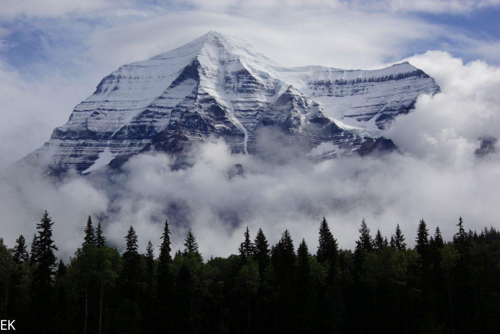 Mt. Robso n muss ein heiliger Berg sein: man beachte den Heiligenschein!