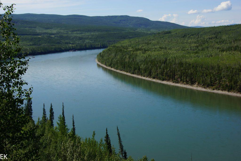 Liard River, ganz ruhig
