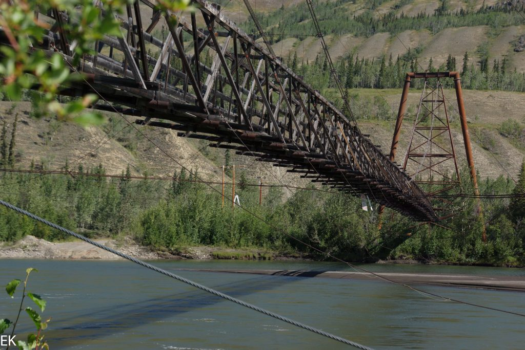 Ross River Suspension Bridge