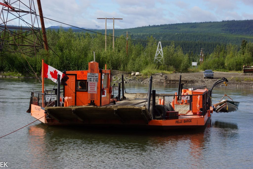 Pelly barge