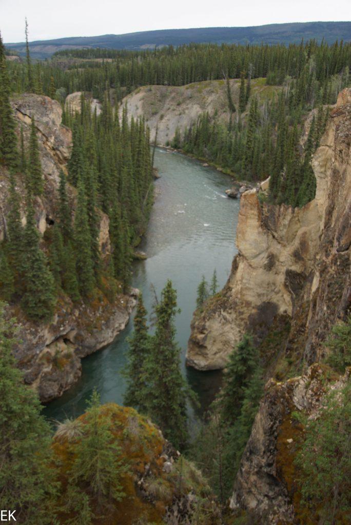 Noch ein Canyon des Lapie River