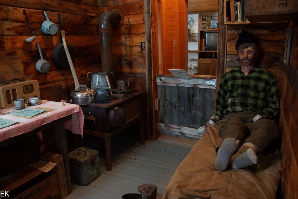 Krno Museum: Miner in seiner Cabin