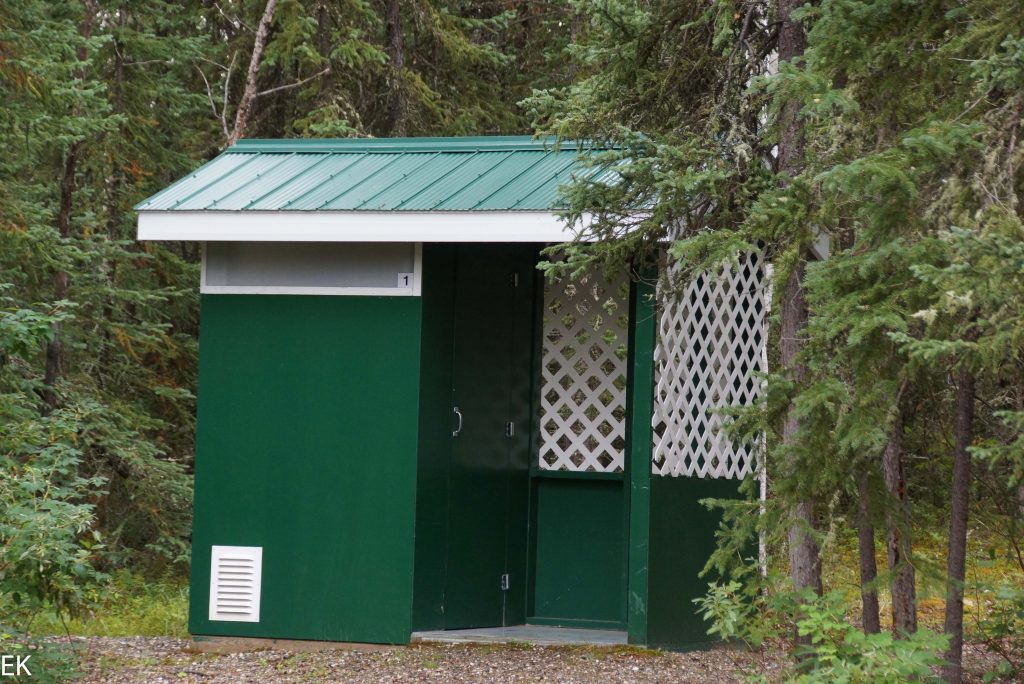 Standard Campground Outhouse