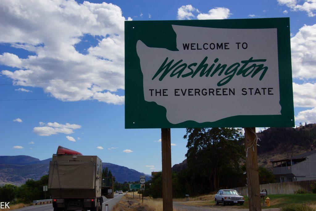 Der Driite State der USA, den wir besuchen