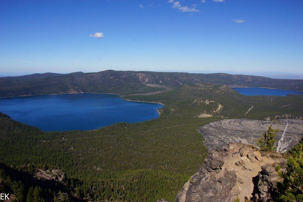 Blick vom Paulina Peak