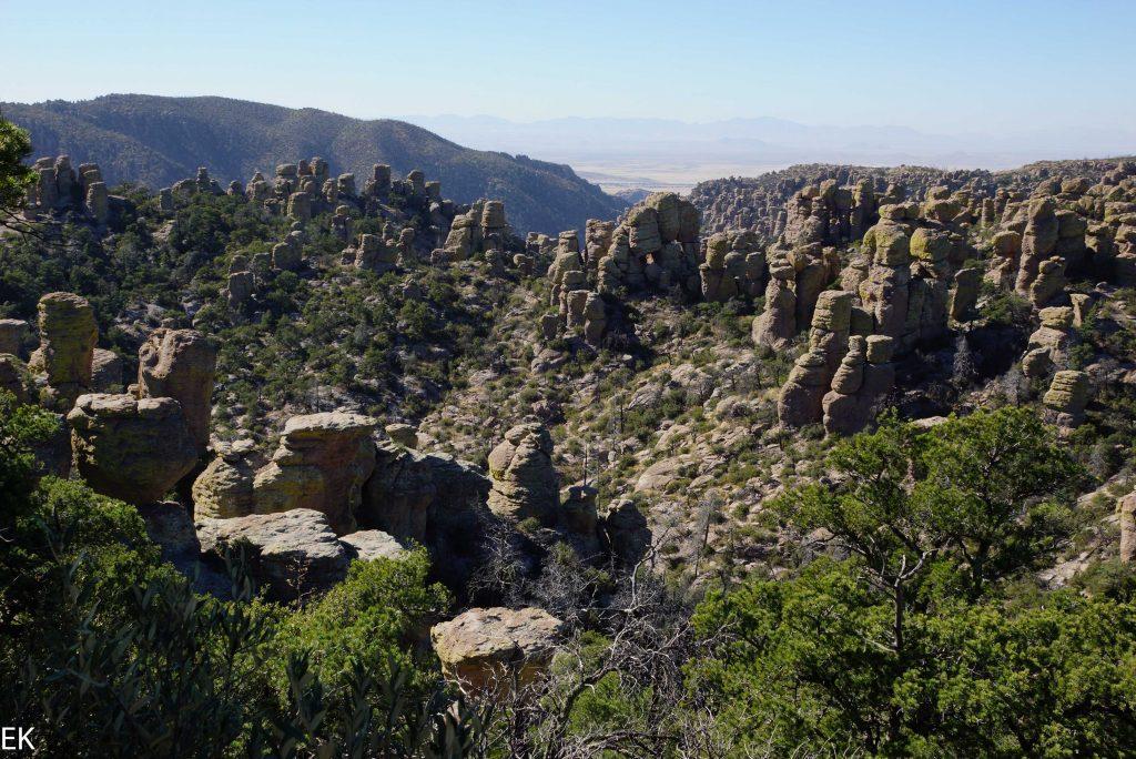 EWin wenig wie Bryce Canyon, jedoch in grau