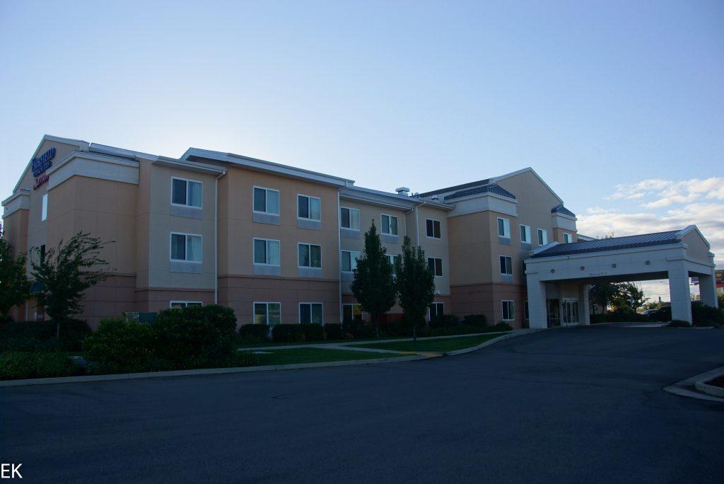 Ab und zu mal ein Hotel ist auch ganz nett...