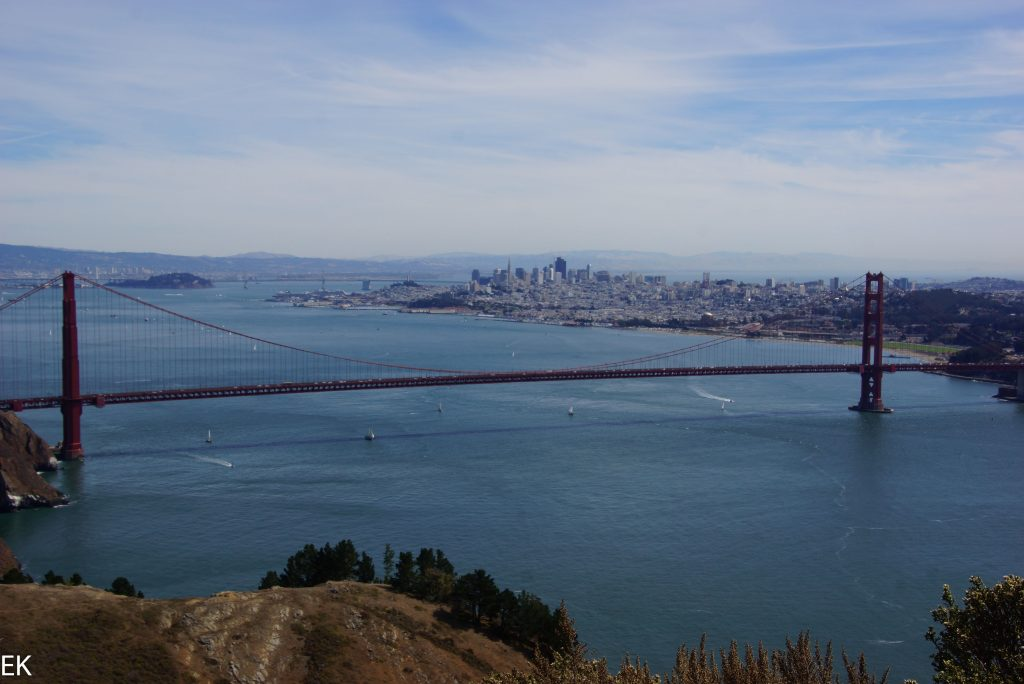 Die berühmteste Brücke von California