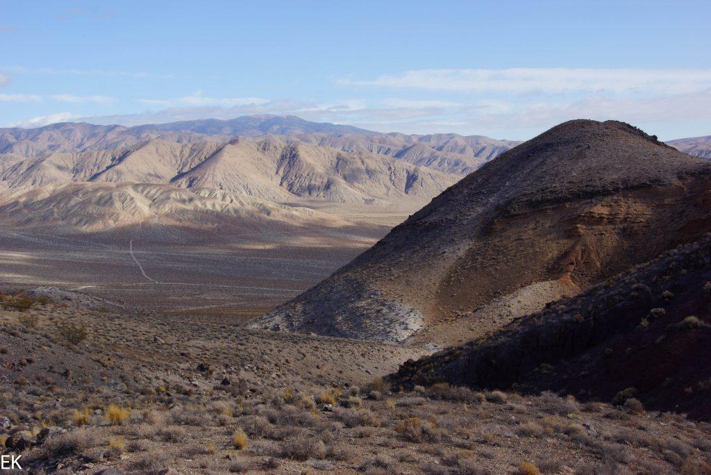 Talgrund von Death Valley ganz im Norden