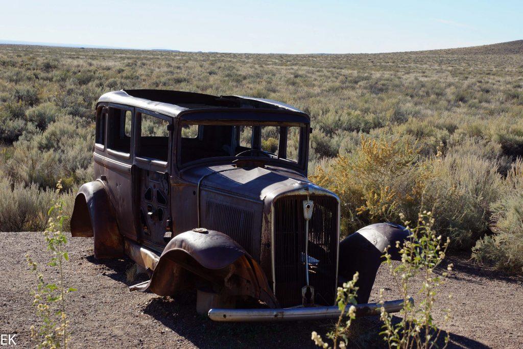 Überbleibsel der Route 66