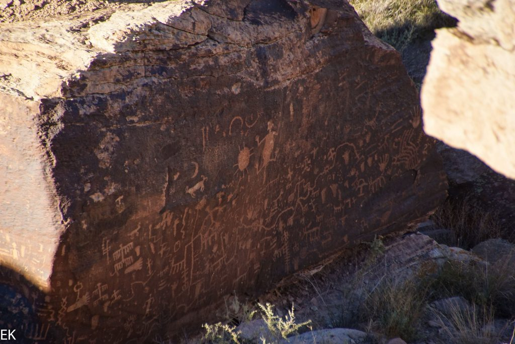 """Newspaper Rock"": Petroglyphs"