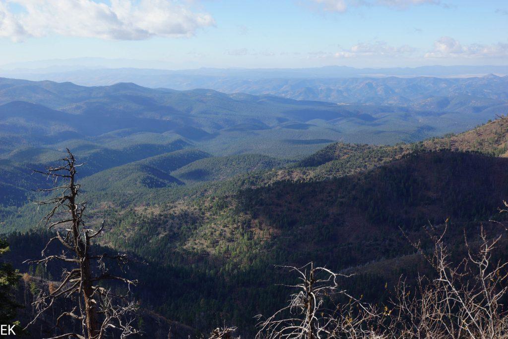 Aussicht bei Blue Vista