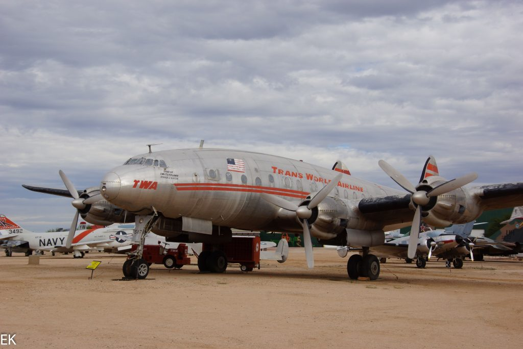 Boing Super Constellation. Die Conny