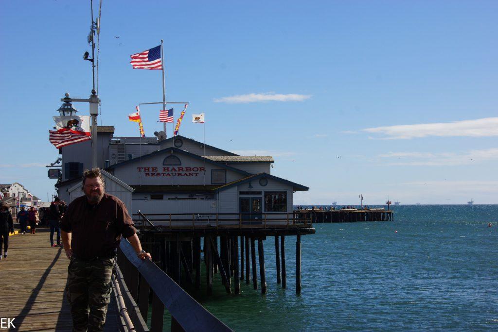 Wharf von Santa Barbara