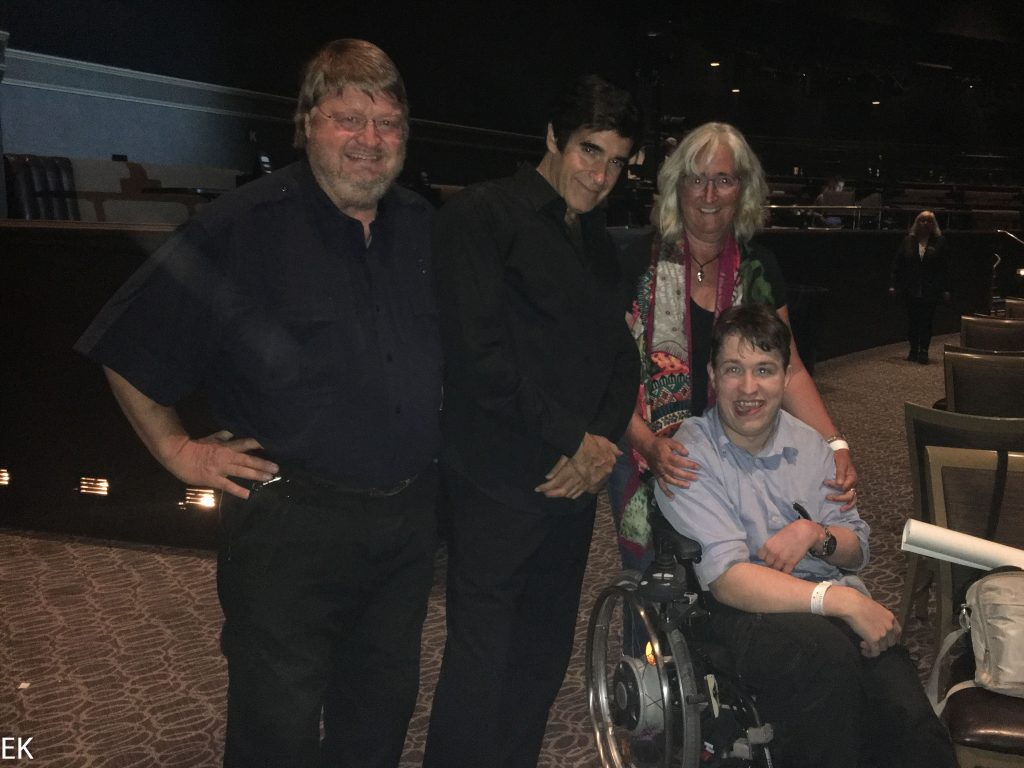 David Copperfield und die ganze Familie