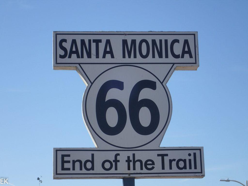 Route 66 Endpunkt