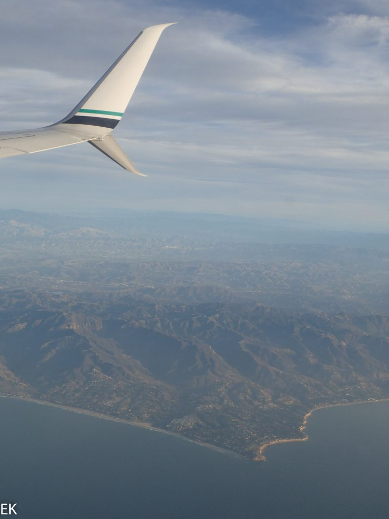 California Küste von oben
