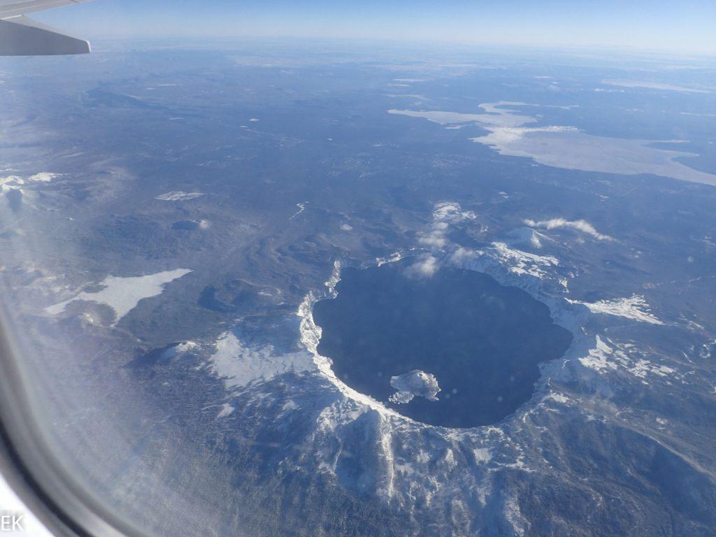 Crater Lake: Im Schnee und von oben
